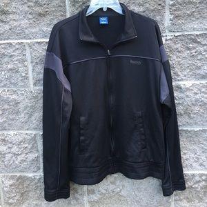 27e54c519dd324 Reebok Jackets   Coats - Reebok black jacket. Size Large.
